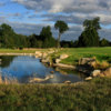A view of a hole at Patagonia Virgin Golf Club