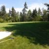 A view of a green at Sackville Golf and Country Club