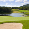 A view of hole #18 at River from Humber Valley Resort