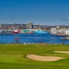 A sunny day view from Balnagask Golf Course (Golf Aberdeen)