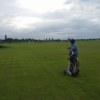 A view from a fairway at Fernando Air Base Golf Club