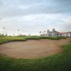 A view of hole #9 at Taekwang Jeongsan Country Club
