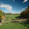 A fall day view of a fairway at Glendale Golf and Country Club
