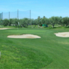 A view of hole #4 at Golf Cambrils Pitch & Putt