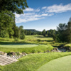 A view from a tee at Crosswinds Golf and Country Club