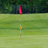 A view of a hole at Muskoka Woodlands Golf Course