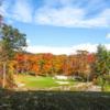 A fall day view from Crimson Ridge Golf Resort