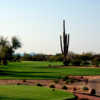 View of the 13th green from the Peaks course at Tonto Verde Golf Club