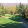 A fall day view of a hole at Golf Centre Plein Air Castor