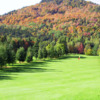 A view of hole #16 at Club de Golf Alpin