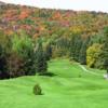 A view of fairway #5 at Club de Golf Alpin