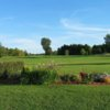 A view of a tee at Club de Golf St-Anicet