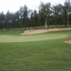 A view of a hole protected by tricky bunkers at Club de Golf Le Marthelinois