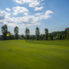 A view of hole #9 at Academy Golf Budapest