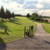 A view of a tee at Club de Golf de St-Prime-sur-le-lac-St-Jean