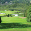 A view from the 18th tee at Club de Golf Chantecler Sainte-Adele