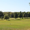 A view of fairway #5 at Les Rochers Bleus Golf and Auberge