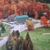 A fall day view from Club de Golf Valcourt