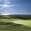 A view from Leven Links Golf Club