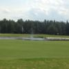 A view of a green with water coming into play at Hudson Bay Golf Club (Jackie VanDale)
