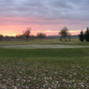A sunset view from St. Lorinc Golf Club