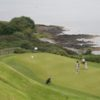 A view of a hole at Carnalea Golf Club