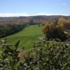 A fall day view from Willow Bunch Golf Club.