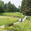 View of the 9th hole at Pitt Meadows Golf and Country Club
