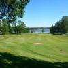 A view of a green at Billeruds Golf Club.