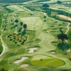 Aerial view of hole #18 at Orange County National - Crooked Cat Course