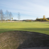 A view of the 8th green at Vasterled Course from Osterakers Golf Club.