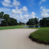 View of the bunker from the 4th hole at Ridgewood Lakes Golf Club