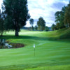 A view of a hole at Knistad Golf and Country Club.