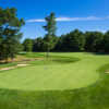 View of a green at Pilgrim's Run Golf Club