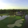 Aerial view of the 9th hole from Stonelick Hills Golf Course