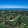 Aerila view of Beachwood Golf Club