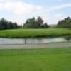 A fall day view of a hole at Le Deauville from Club de Golf Venise.