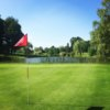 A view of a green at Club de Golf les Cedres.