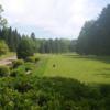 A view of a tee at Club de Golf L'Esterel.