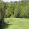 A view from tee #1 at Quarry Lakes Golf & Recreation Centre.