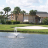 A view over the water from Ocean Village Golf Course.