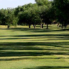 A view of a fairway at Andrews County Golf Course.