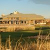 View of the clubhouse at Buffalo Run Golf Course