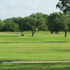 A view of a green at Cuero Park Golf Course.