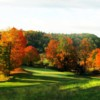 A view of the 8th hole at Milestone Golf Club.
