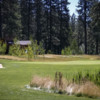 A view of a green at Feather River Inn Golf Club & Resort.