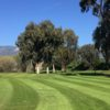 A view of a green at Twin Lakes Golf Course.