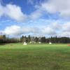 A view of the driving range at Twin Lakes Golf Course.