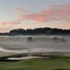 An early morning view from Wainui Golf Club.