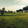 A view of a fairway at Spreading Antlers Golf Course.